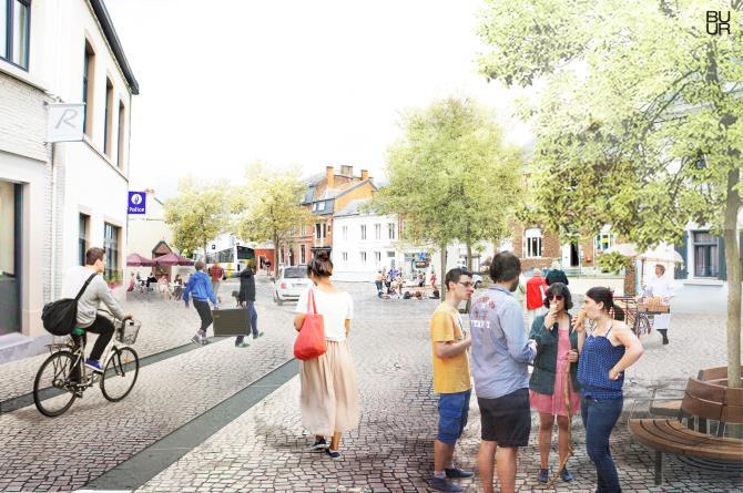Plan de Mobilité du centre de Floreffe – Phase test