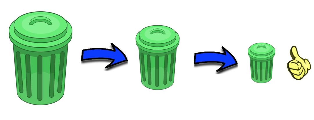 Comment diminuer la quantité de nos déchets?