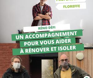 Floreffe et Profondeville lancent le Réno Défi
